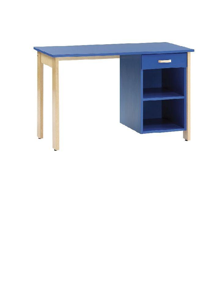 Bureau gamme dreux simple caisson 1 tiroir mobilier for Mobilier bureau 94